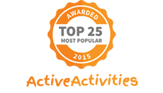 Awarded Top 25 Most Popular by Active Activities