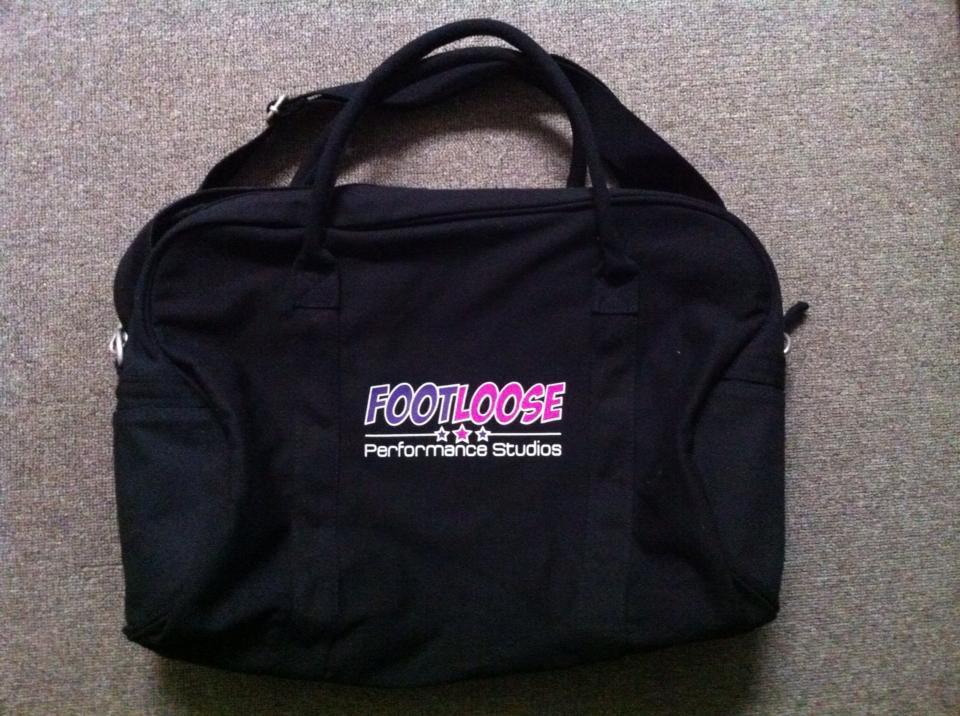 Footloose Performance Studios Dance Bag
